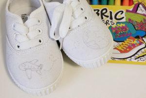 Zapatillas con dibujo