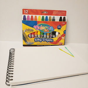 presentación Silky Crayons